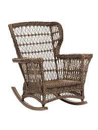 Wicker Rocking Chair Patio Furniture Rockers Gliders Resin ...