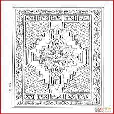 Tapis Dessin 453108 Coloriage Mandala Tapis Turc Coloriages Imprimer