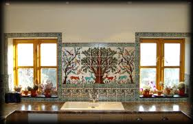 kitchen backsplash tile murals all home design ideas