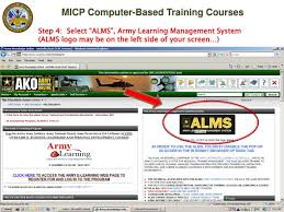 Army Alms Help Desk by Ppt Managers U0027 Internal Control Program Micp Computer Based