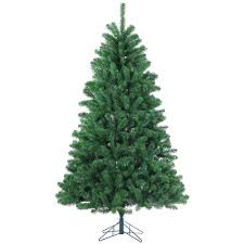 Artificial Christmas Tree Unlit by Sterling 7 Ft Unlit Montana Pine Artificial Christmas Tree With