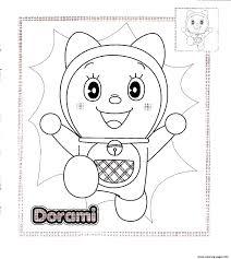Dorami Doraemon Sb0b4 Coloring Pages