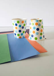 Paper Cups For Cup Craft