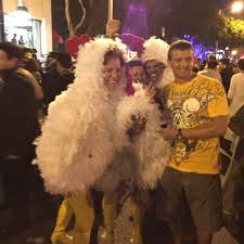 West Hollywood Halloween Carnaval Location by A Picture With A Costume Of Queen Elizabeth And The Prince Of