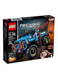 100 Lego Technic Monster Truck Shop LEGO 6X6 All Terrain Tow 42070 Online In Riyadh