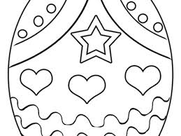 33 Easter Eggs Coloring Pages Egg