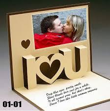 DIY First Anniversary Card For Boyfriend Girlfriend