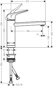 hansgrohe küchenarmatur wasserhahn küche 360 schwenkbar