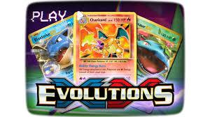 Pokemon Deck List Standard by Xy Series Xy U2014evolutions Trading Card Game Pokemon Com
