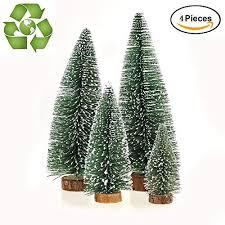 Desktop Miniature Pine Tree Tabletop Christmas Small Decor Toppers