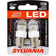 sylvania zevo 1156 white led bulb contains 2 bulbs