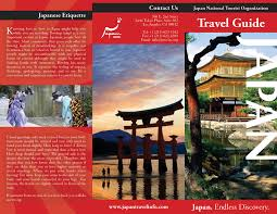 Geography Travel Brochure
