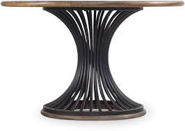 Empty Chairs At Empty Tables Chords by Hooker Furniture Dining Room Studio 7h Cinch Round Dining Table