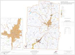 District Map Lawrence County Tennessee Government
