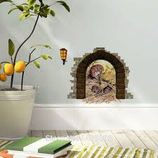 Cute 3d Wall Stickers Bedroom Living Room Decoration Vivid Mouse