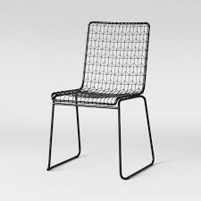 Set Of 2 Oster Wire Dining Chair Black - Project 62™ In 2019 ... White Wire Diamond Ding Chair Fmi1157white The Home Depot Shop Poly And Bark Padget Eiffel Leg Set Of 2 Bottega Tower Ding Chair By Sohoconcept Luxemoderndesigncom Commercial Gold Leaf Shape Metal Chairgold Color Bellmont Bertoia Of Rose Harry Oster Black Project 62 In 2019 4 Wire Ding Chairs Black With Cushion 831 W Green Cushion Zuo Eurway Holly Reviews Joss Main Hashtag Bourquin Wayfair Simple Hollow For Living Room