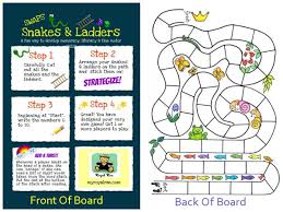 Make Your Own Snakes And Ladders