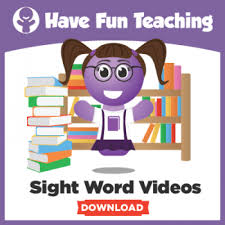 Sight Word Videos Download 350x350