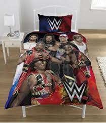 amazon com wwe 4 pc twin superstars comforter sheet set