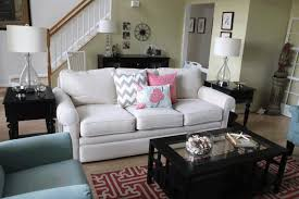 Grey Brown And Turquoise Living Room by Decorating With Turquoise Sleek White Modern Sofa Curved Glass