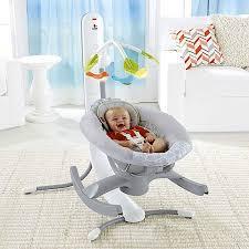roboterwiege fisher price schaukelt babys in den schlaf