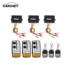 CARCHET Universal 3 Pcs Winch Wireless Remote Control Kit 12 V 50FT ... Us Army Ww2 Jeep Truck Vehicle Firestone Rubber Cement Tire Repair 35 And 37 Jl Pics With Lift Kit Page 59 2018 Jeep Wrangler Champion Power Equipment 100 Lb Truckjeep Winch Kit Speed Omurtlak76 Action Truck Predator Hq Jeeps Moab Moment Auto News Trend Suv Car First Aid Bag 50 Piece Attaches To Aftermarket Parts Rims Wheels Toronto Missauga Brampton 66