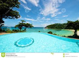 100 Resorts With Infinity Pools Pool Vacation On Boracay Resort Stock Image Image Of