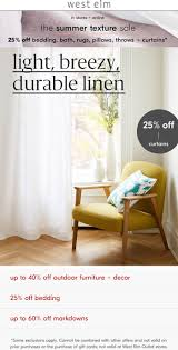 West Elm Coupons - 25% Off Everything At West Elm, Or Online Via ... West Elm Free Shipping Promo Code September 2018 Discounts 10 Off West Coupon Drugstore 15 Off Elm Promo Codes Vouchers Verified August 2019 Active Zaxbys Coupons 20 Your Entire Purchase Slickdealsnet Brooklyn Kitchen City Sights New York Promotional 49 Kansas City Star Newspaper Coupons How To Get The Best Black Friday And Cyber Monday Deals Pier One Table Lamps Beautiful Outside Accent Tables New Coffee Fabfitfun Sale Free 125 Value Tarte Cosmetics Bundle Hello Applying Promotions On Ecommerce Websites