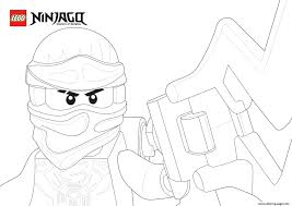 Picture Ninjago Face Coloring Pages
