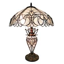 Home Depot Tiffany Style Lamps by Amora Lighting 23 In Tiffany Style Roses Table Lamp Am1534tl16