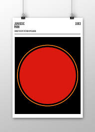 Fantastic Geometric Movie Poster Series
