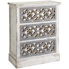 cosette antiqued mirrored chest pier 1 imports