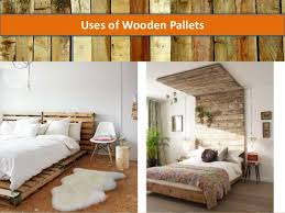 Uses Of Wooden Pallets