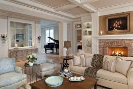 Living Room With Fireplace And Bookshelves by Wall Candle Holder Ideas Living Room Traditional With Coastal