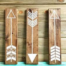 Fully Customizable Set Of 3 Wall Arrows Rustic Gallery