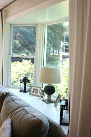 Blockaide Adjustable Double Curtain Rod Set by Best 25 Bay Window Curtains Ideas On Pinterest Bay Window