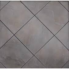 shop style selections 12 in x 12 in jackson ridge black glazed