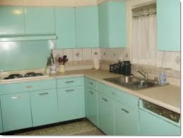 Cabinet Decorate Turquoise Kitchen Cabinets Http Clubcayococo Com For S 1960s