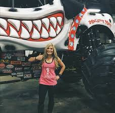 Professional Monster Truck Driver Cynthia Gauthier Reppin 1P At Her ... Not Ready To Be A Fulltime Parent Foster Petthursday Kiss Monster Jam Mpls Dtown Council Worlds Youngest Pro Female Truck Driver 19year Old Funky Polkadot Giraffe Monster Jam Returns To Angel Stadium Of First Female Grave Digger Driver With Comes Des Moines Wkforit Apparel Featured Athletes Pedal The Metal Arc Magazine The No Joe Schmo Rosalee Ramer Women Drivers Bsmaster Builds Her Own Rides Youtube