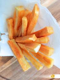 cuisiner le manioc frites de manioc je cuisine créole