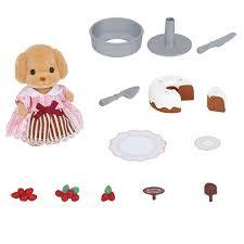 Wwe Cake Decorations Uk by Sylvanian Families Cake Decorating Set 13 00 Hamleys For