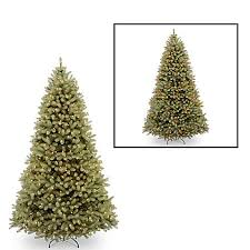 National Tree Company 10 Foot Downswept Douglas Fir Pre Lit Christmas With Dual