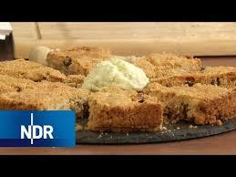 schiaccia briaca kuchen mit stachelbeereis rezept ndr