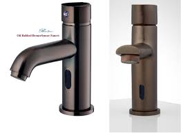 Touchless Bathroom Faucet Brushed Nickel by Touchless Bathroom Faucet Bronze
