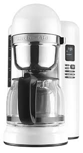 KitchenAid KCM1204WH 12 Cup Coffee Maker With One Touch Brewing