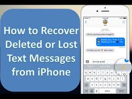 How to Recover Deleted Text Messages on iPhone 7 6 6s 6 Plus 6s
