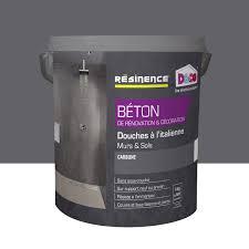 revetement sol exterieur resine leroy merlin enduit béton resinence gris carbone 4 l leroy merlin