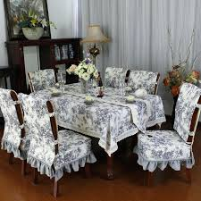 Dining Table Chairs Online India Room Various Fashion Embroidered Rustic Fabric Chair Cover