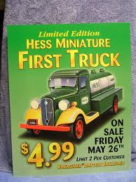 Hess Collectibles Price List, Hess Glasses, Hess Bags, Hess Signs ... Miniature Greg Hess Truck Colctibles From 1964 To 2011 New 2016 Imgur 1990 Gasoline Advertising Toy Tanker Die Cast Nib Mobile Museum Stop At Deptford Mall Njcom 1975 Tractor Trailer Battery Operated Operated Evan And Laurens Cool Blog 111014 Collectors Edition 2017 Dump End Loader Light Up Goodbyeretail Trucks Of The World Small Scale Farm Toys Vintage 1985 First Bank With Lightsin Mint Cdition By Year Guide Available November 11th Coast 2 Mom Home Facebook