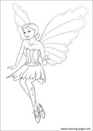 Barbie Mariposa 12 Coloring Pages Print Download